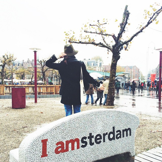 Let's go back to Paris ? See you soon Amsterdam ! ? #iamsterdam #amsterdam #weekend