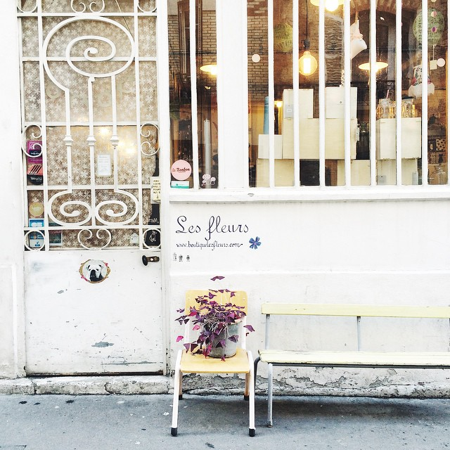 Lunch break ✨? #lesfleurs #shopping #christmasshopping