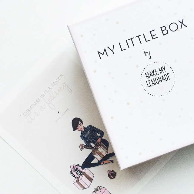 My Little Box x @makemylemonade ?? Elle est parfaite ✨ #makemylemonade #mylittlebox #mylittleparis