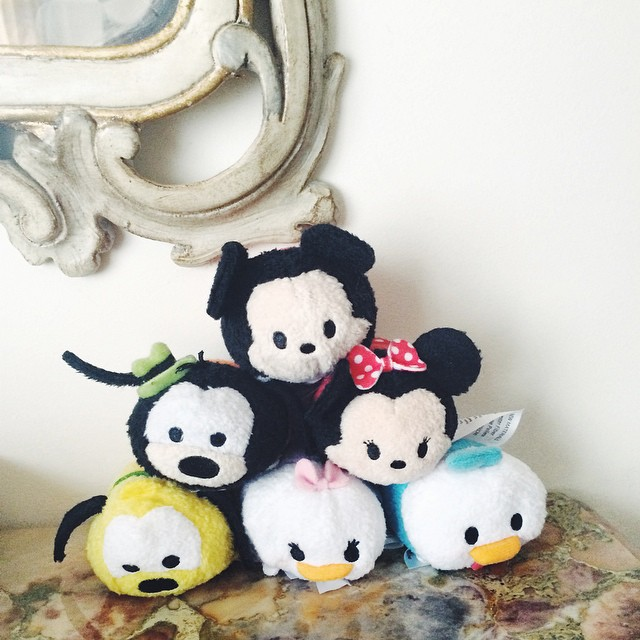 La team ? #tsumtsum #disney