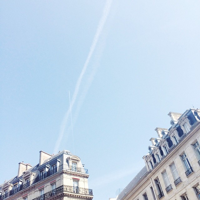 Perfect weather in Paris ☀️ #paris #sunny