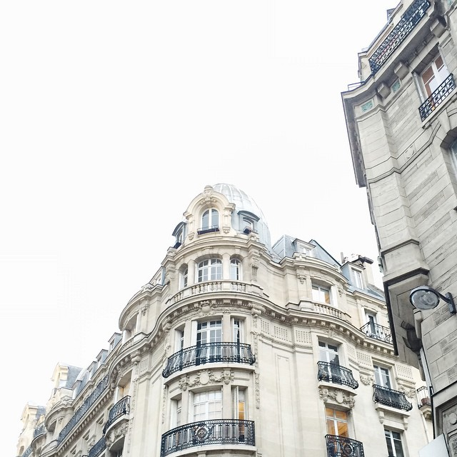 Parisian grey sky ☁️ #paris