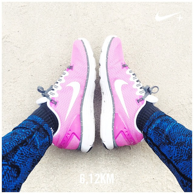 Saturday run with my new  legging ?? #nikeplus #HappyRunningCrew #morekm #run #running