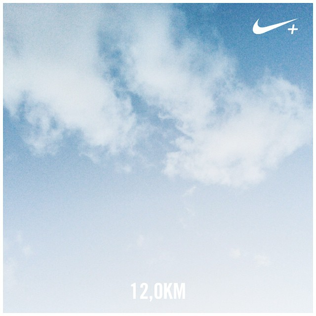 Happy run ✌️? #nikeplus #HappyRunningCrew #run #running #nike