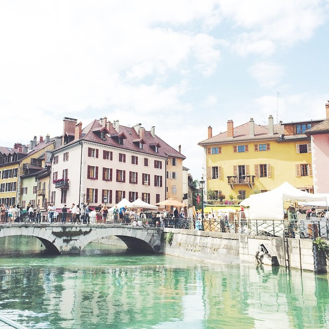 Le vieux Annecy ???❤️ #annecy #weekend
